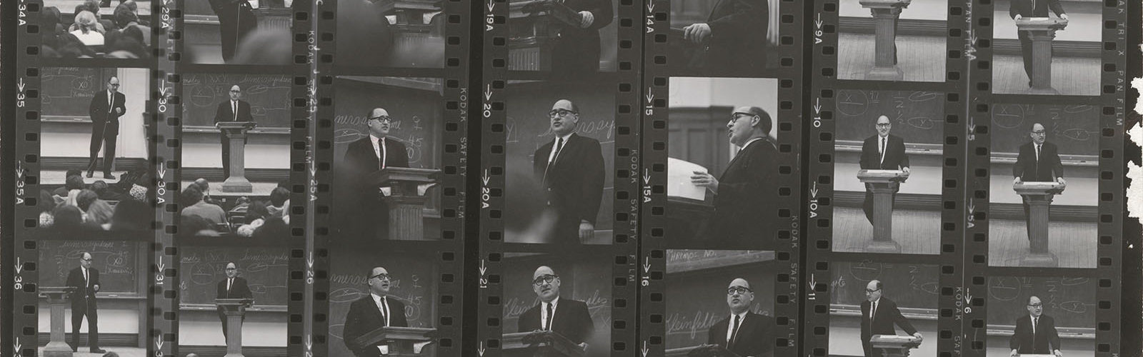 1960 - Mosse Lecturing at UW-Madison