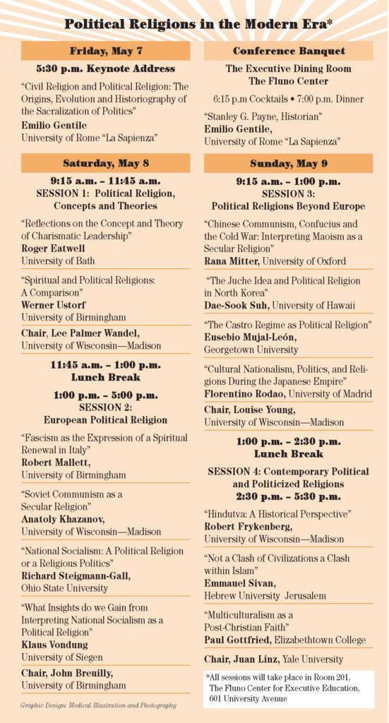 2004.05.07-09 - Political Religions in honor of Stanley Payne Program