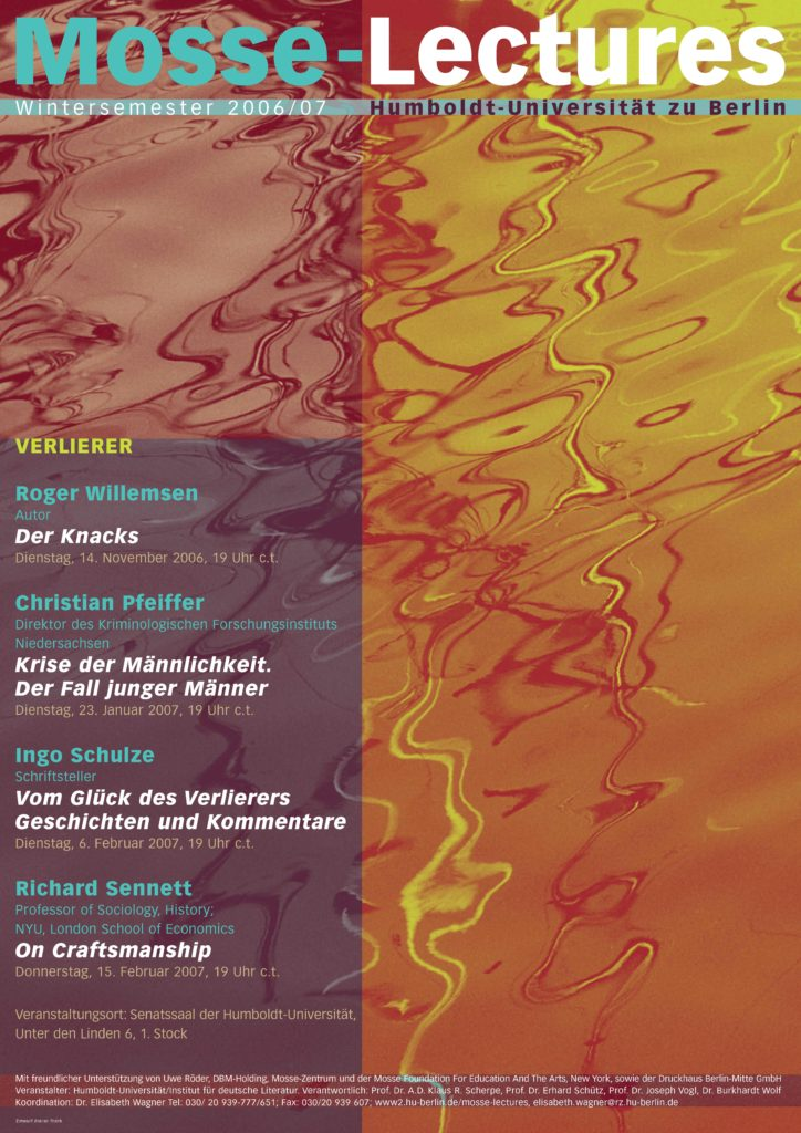 2006-2007 - Mosse-Lectures