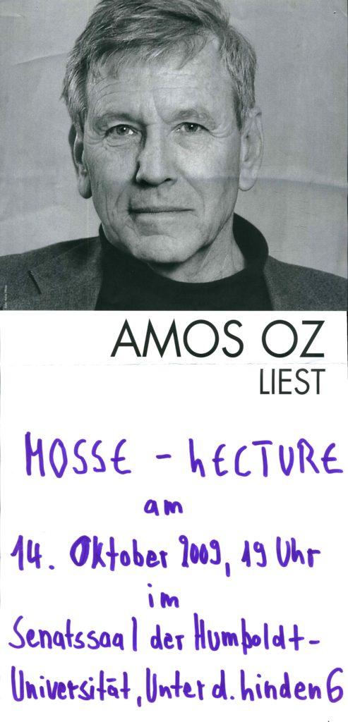 2009.10.14 - Amos Oz - Humboldt Universität 02