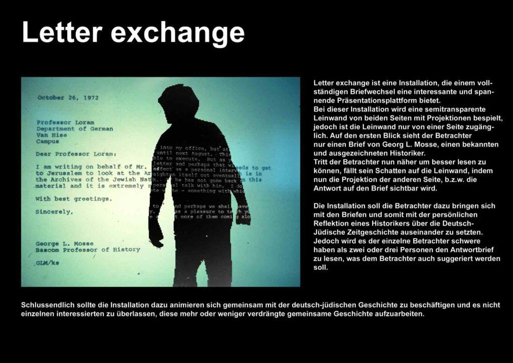 2010 - Leo Baeck Institute - Letter Exchange