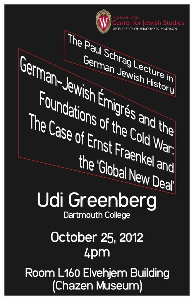 2012.10.25 - Udi Greenberg - German-Jewish Émigrés 06