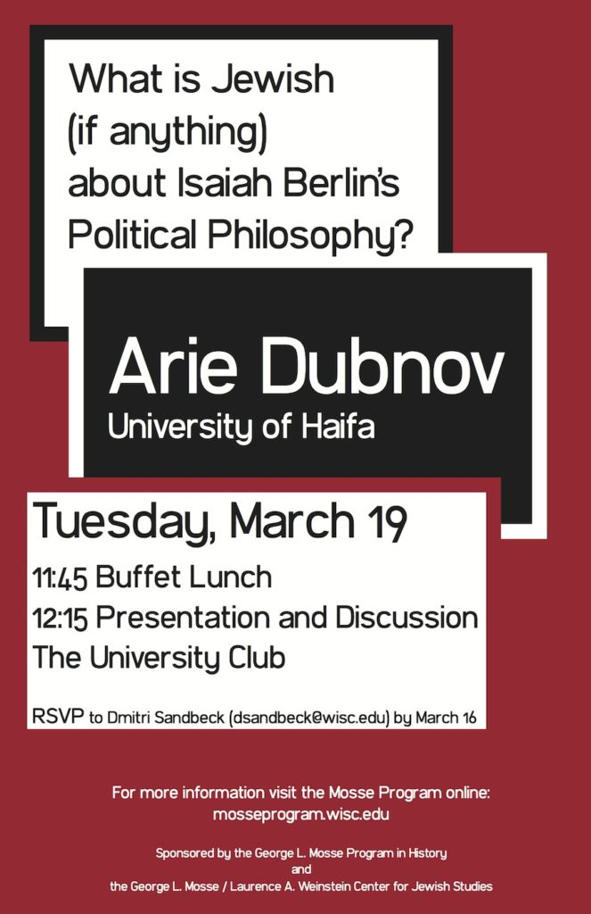 2013.03.19 - Arie Dubnov - What is Jewish 01