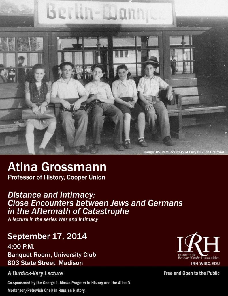 2014.09.17 - Atina Grossmann - Distance and Intimacy 04