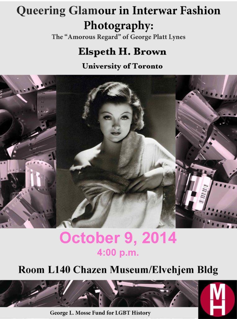 2014.10.09 - Elspeth Brown - Queering Glamour in Interwar Fashion 02