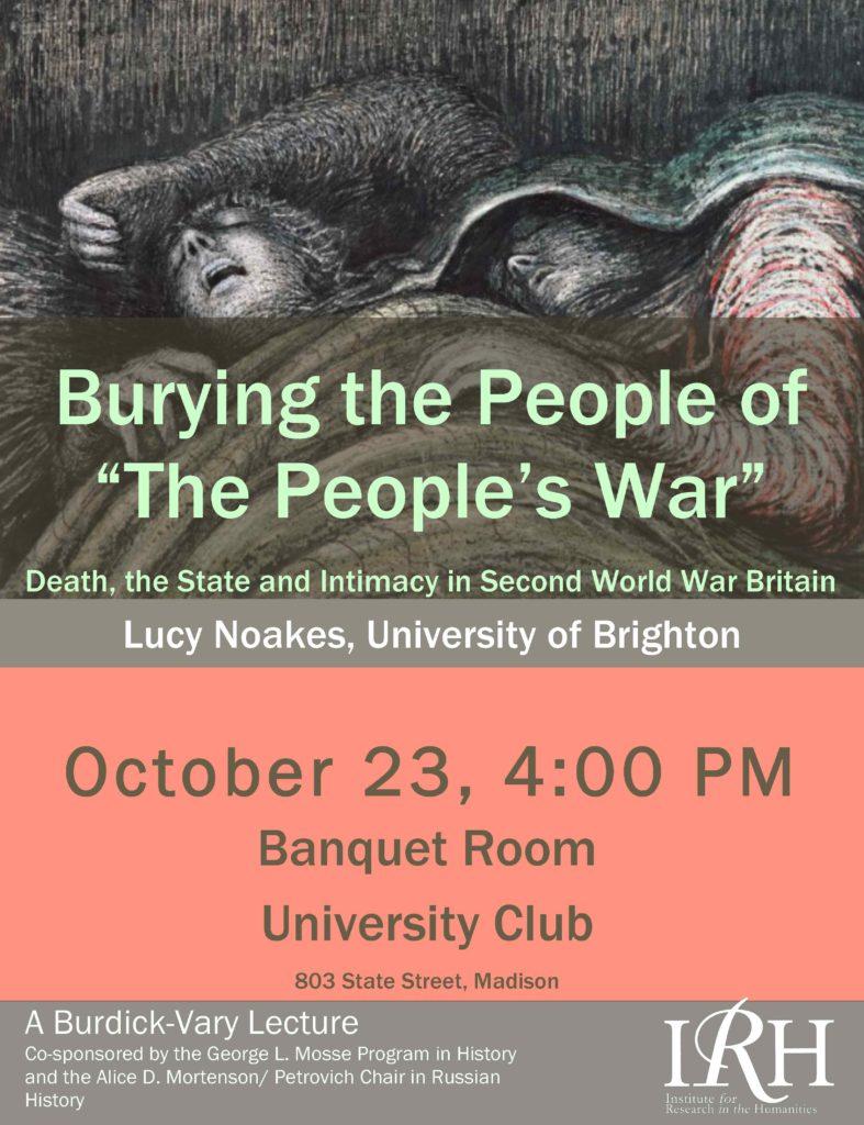 2014.10.23 - Lucy Noakes - Burying the People 05