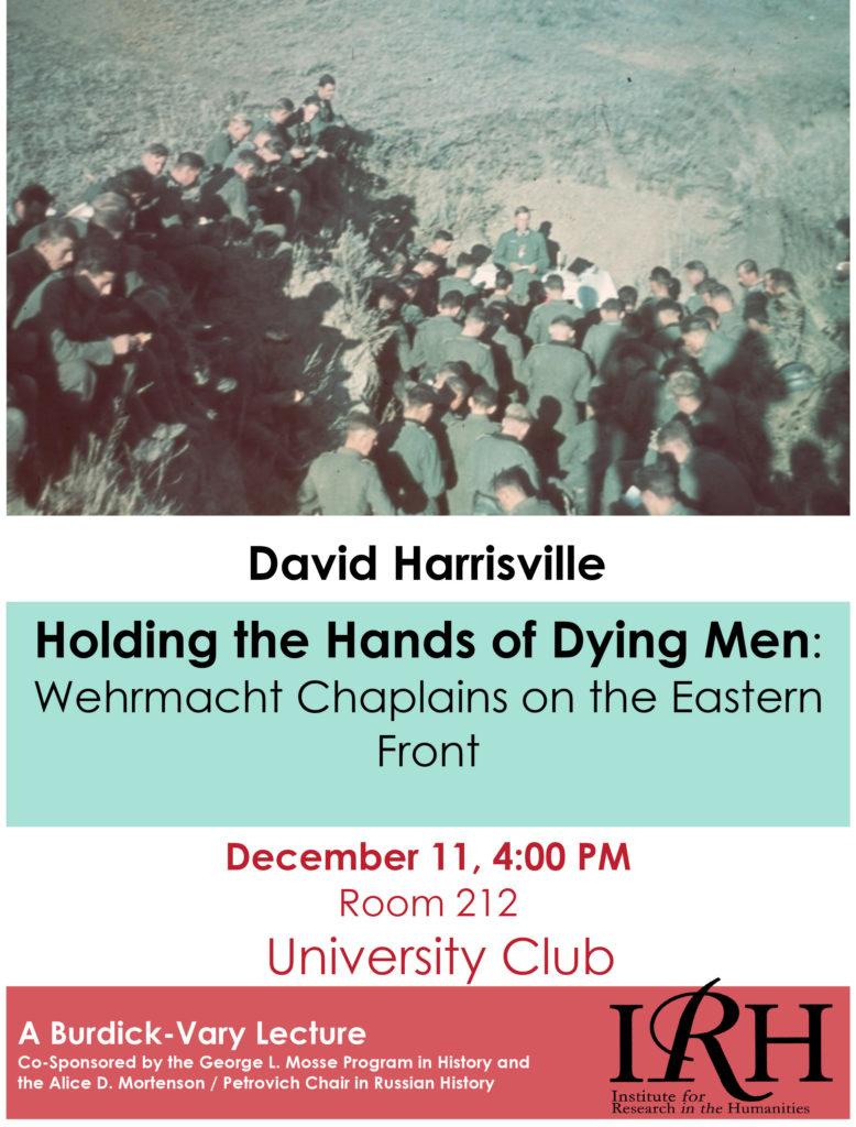 2014.12.11 - David Harrisville - Wehrmacht Chaplains 02