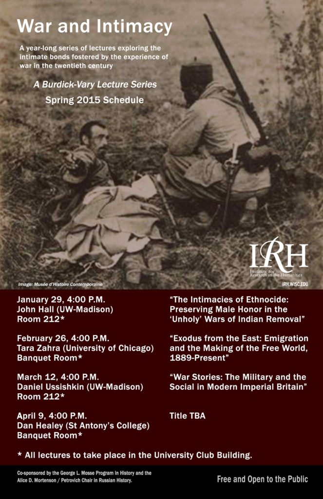 2015.01.29-04.09 - War and Intimacy Lecture Series 02