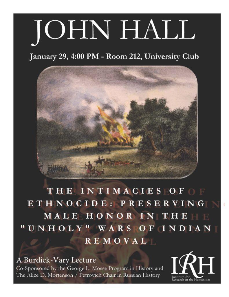 2015.01.29 - John Hall - Intimacies of Ethnocide 01