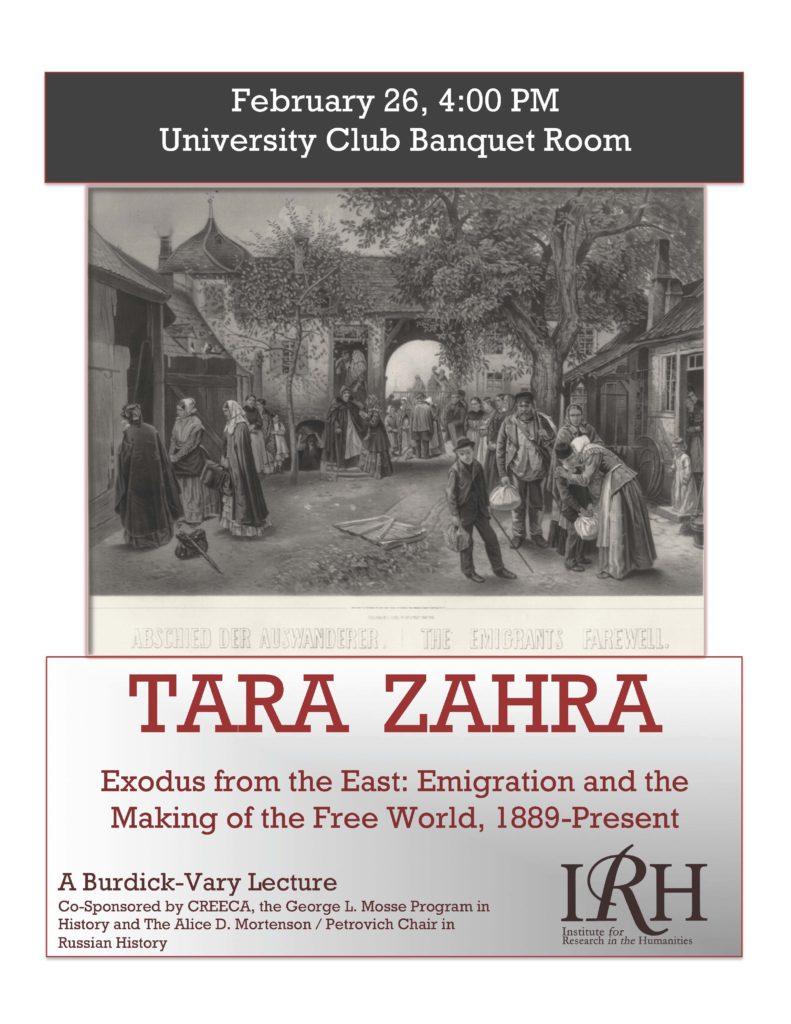 2015.02.26 - Tara Zahra - Exodus for the East 01