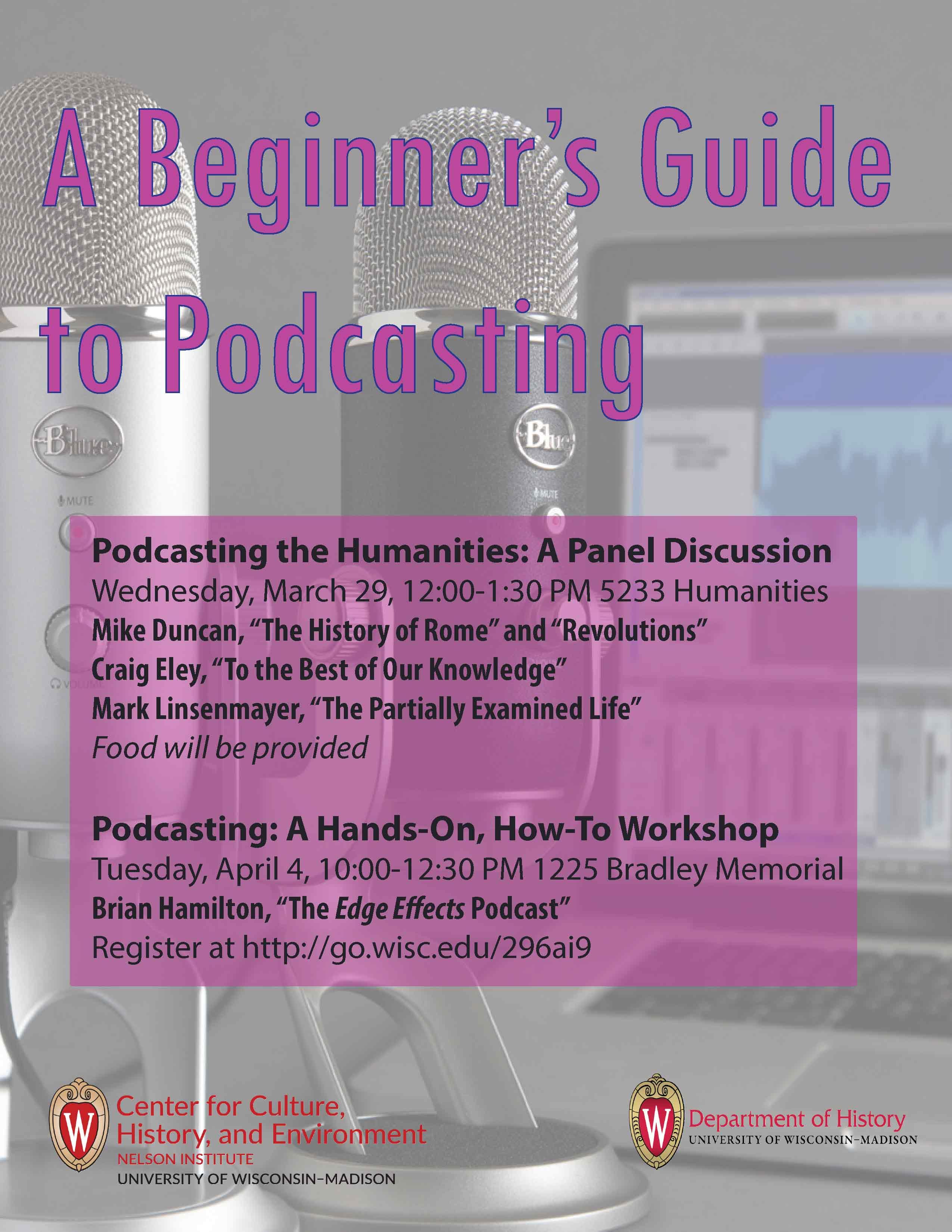 2017.03.29 - Beginner Guide to Podcasting