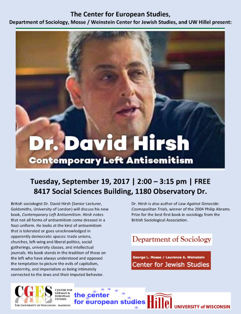 2017.09.19 - David Hirsh