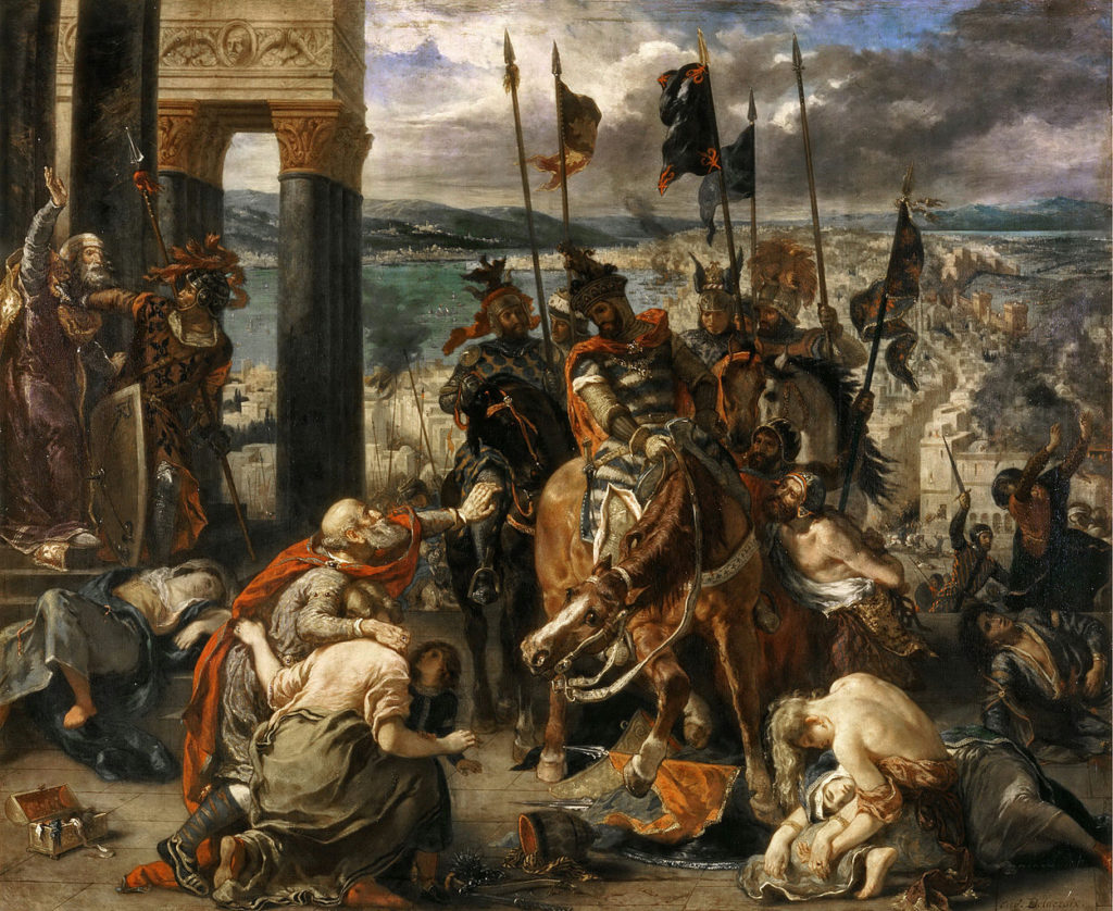 1840 - Delacroix - Entry of the Crusaders into Constantinople
