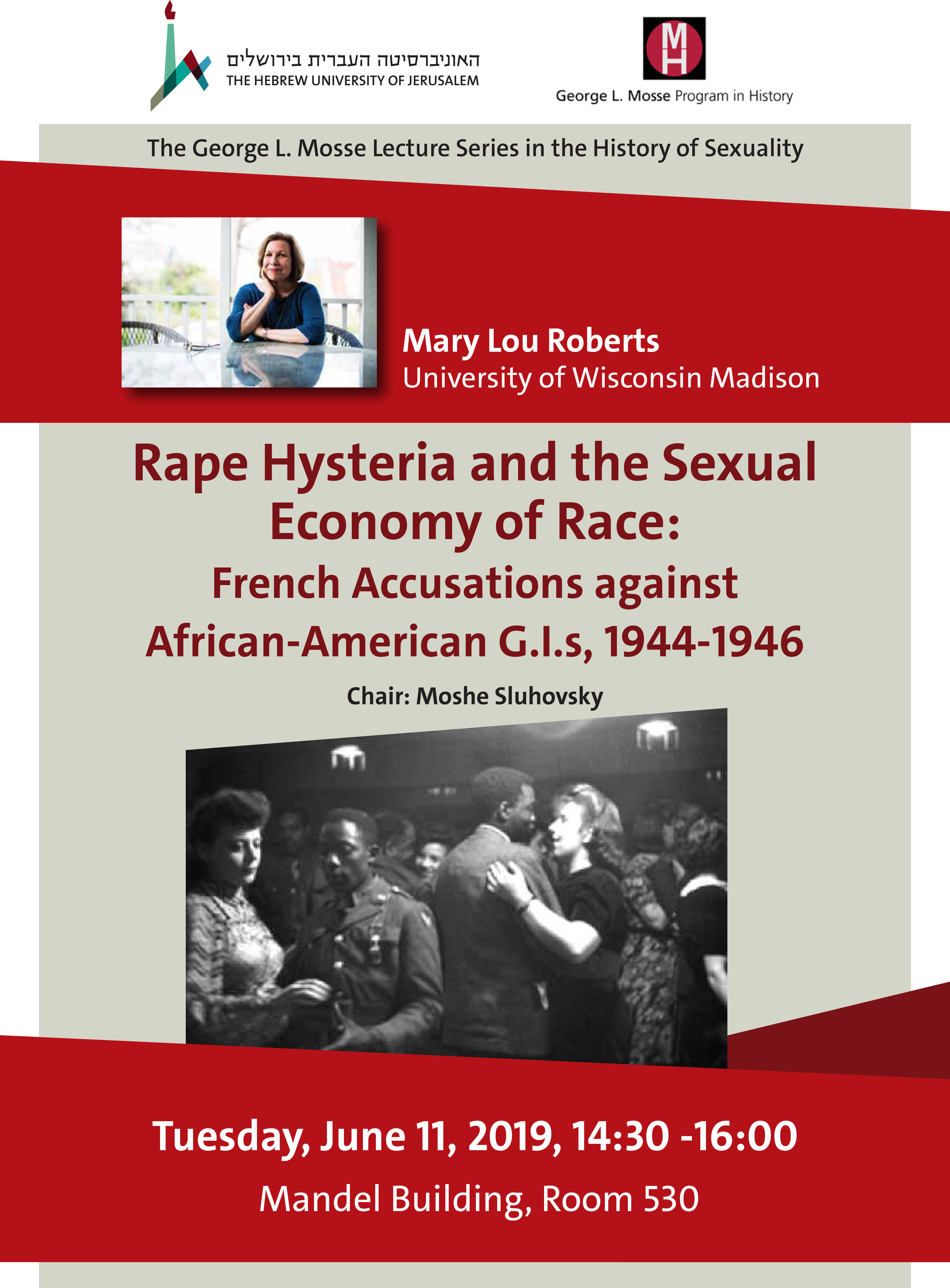 2019.06.11 - Lou Roberts- Rape Hysteria