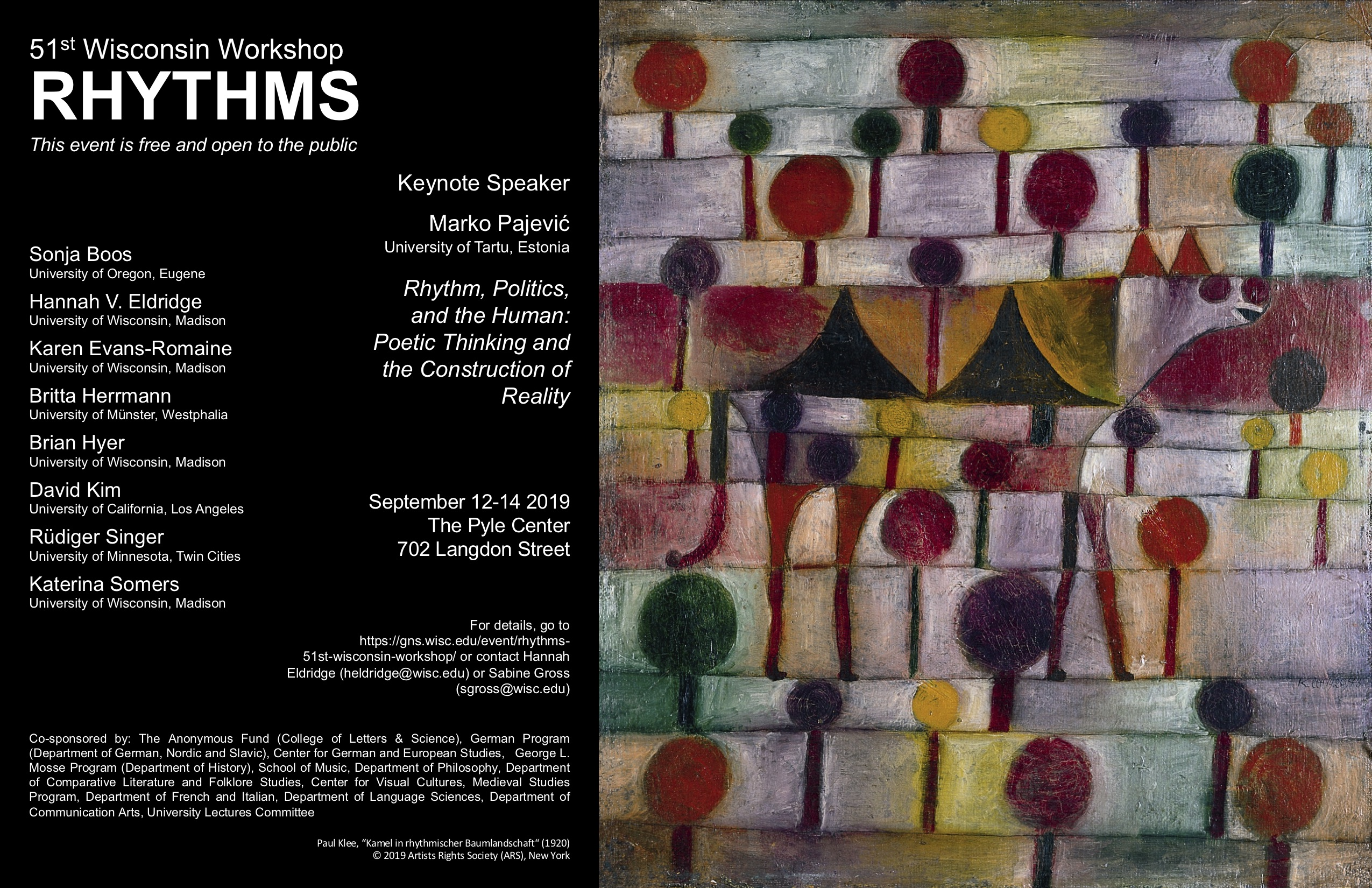Rhythms Conference Poster