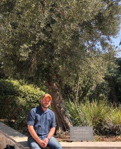 2019.08 - Chad Gibbs at the Hebrew U