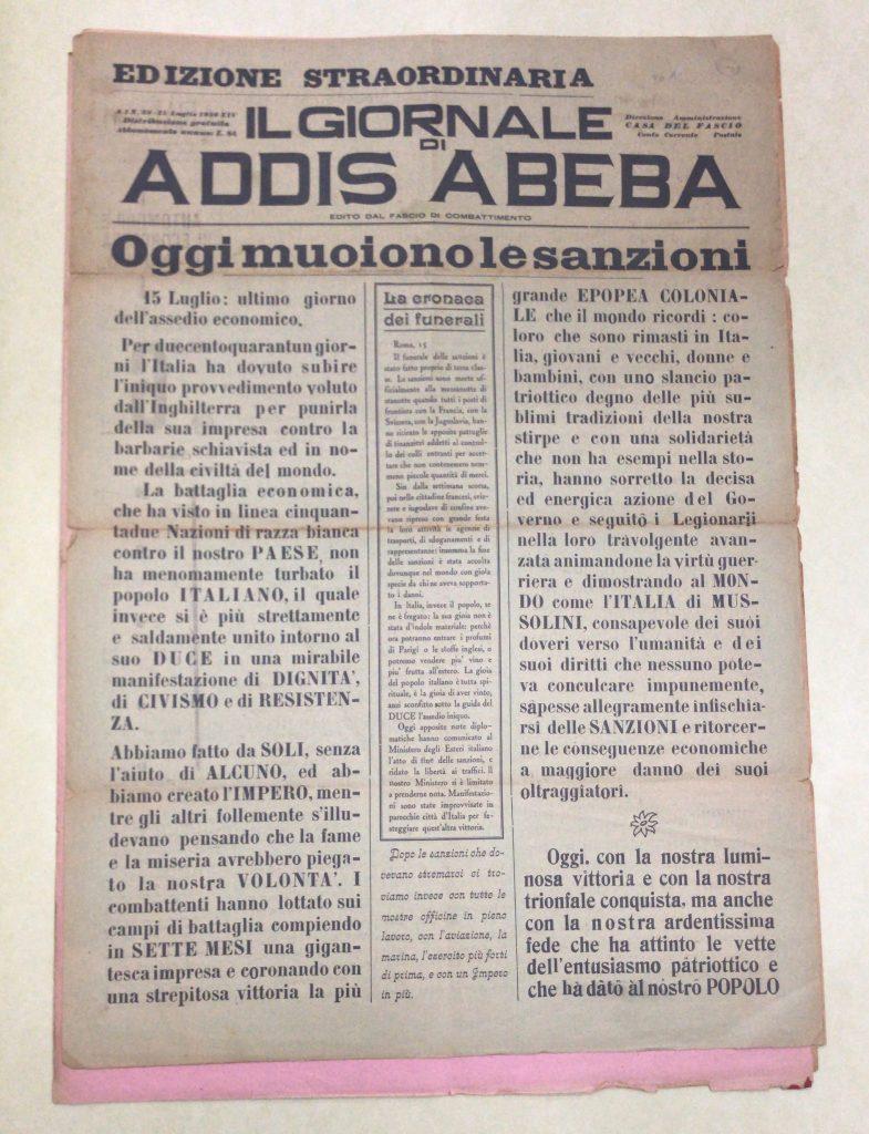Image 3: Il Giornale di Addis Abeba.