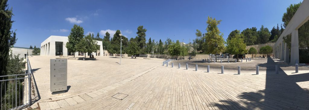 Yad Veshem, taken by Chad S.A. Gibbs on 2 August 2019