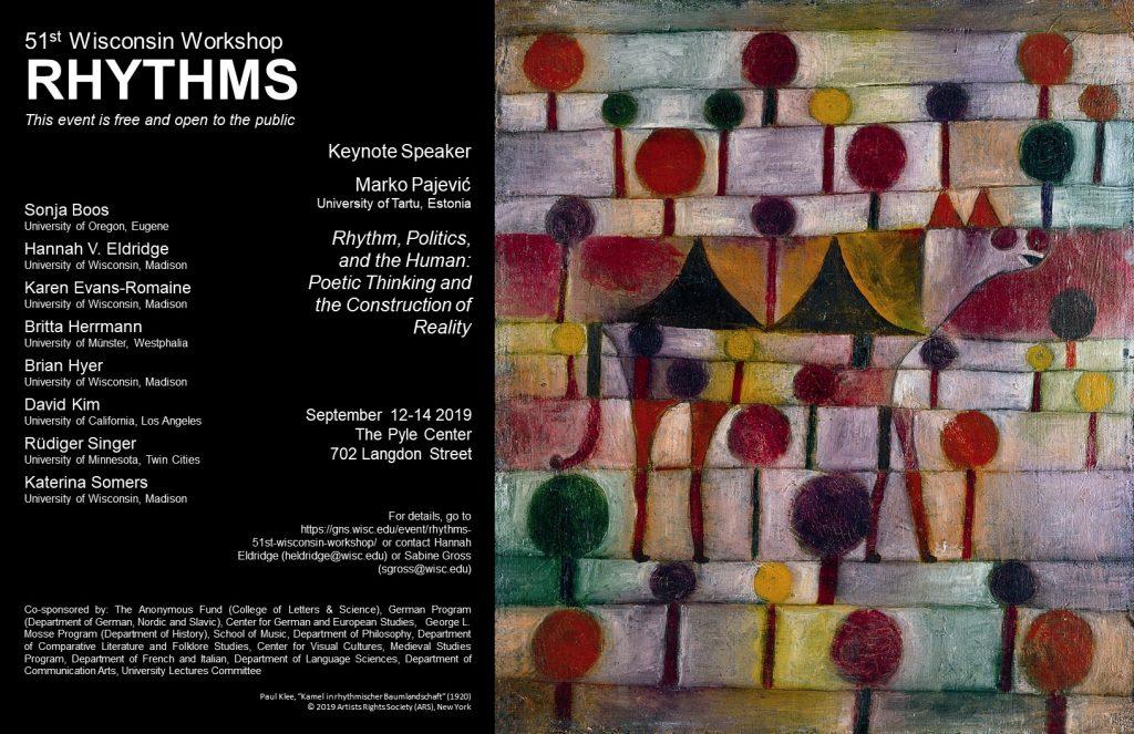 Rhythms Final Poster