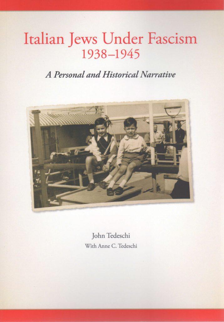 2015 - Tedeschi - Italian - Jews - Under-Fascism web