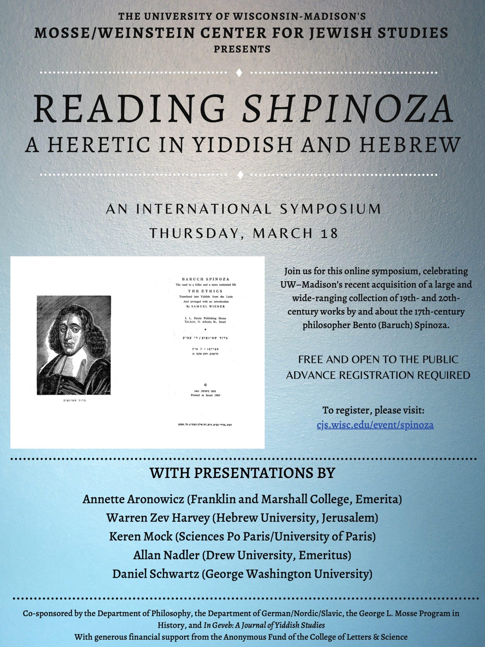 Spinoza conference