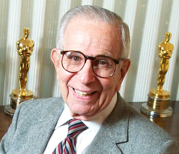 Walter Mirisch with awards